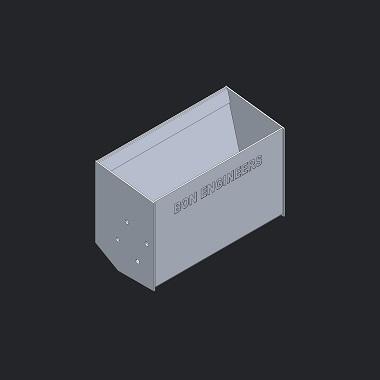 Steel Conveyor Bucket - 1